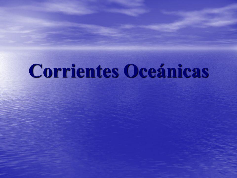 Corrientes Oceánicas