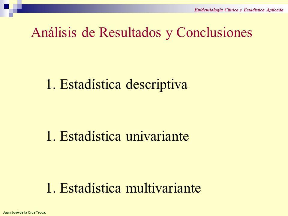 Tipos de Pruebas Estadísticas.Paramétricas. Para variables cuantitativas normales.