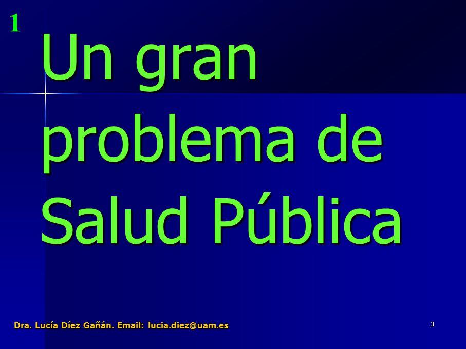 4 Un gran problema de Salud Pública Nos podemos hacer muchas preguntas Algunos aspectos clave: Es un producto tóxico.
