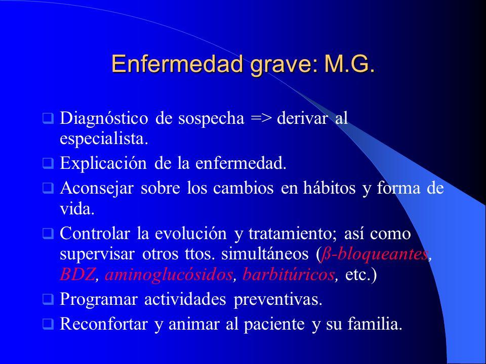 Caso clínico de Pilar Antecedentes personales Antecedentes personales Farmacéutica con padre y tío con dx.