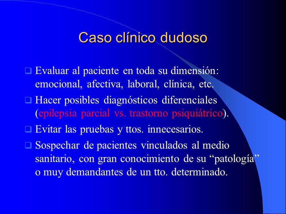 Caso clínico de Julián Antecedentes personales Antecedentes personales Jardinero sin antecedentes familiares de interés.