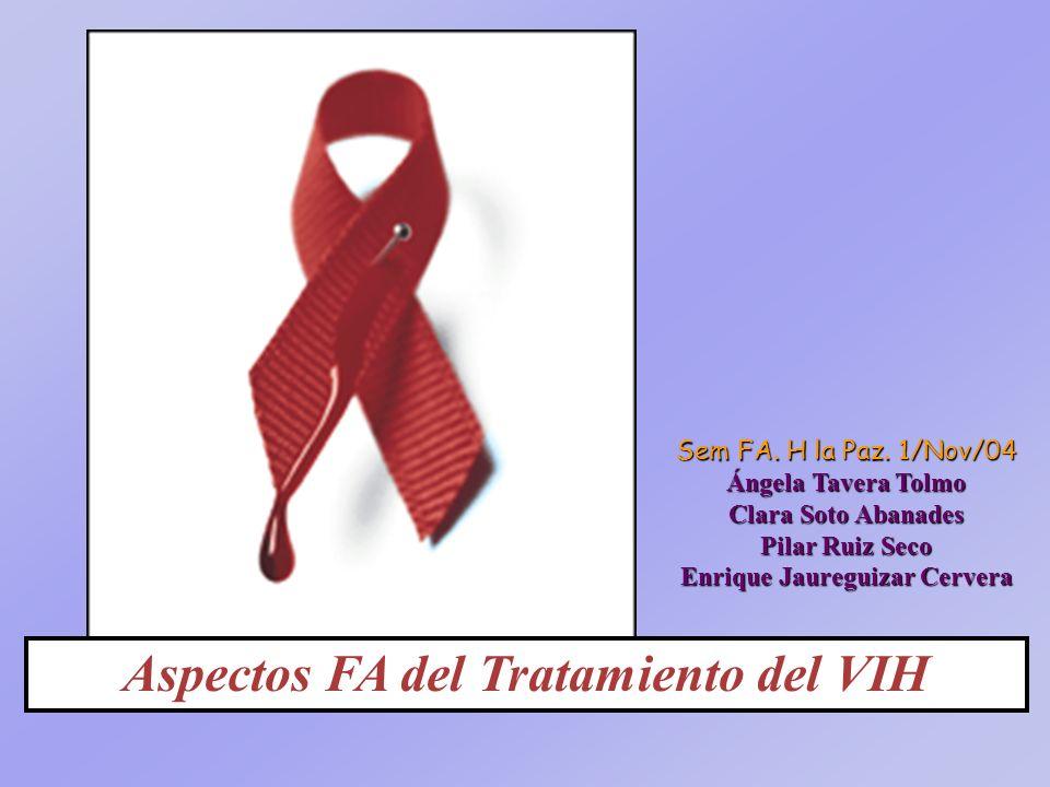 Aspectos FA del Tratamiento del VIH Sem FA.H la Paz.