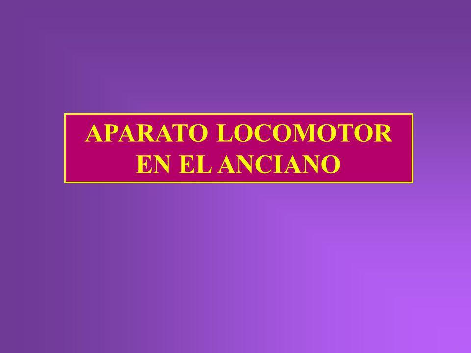 APARATO LOCOMOTOR EN EL ANCIANO