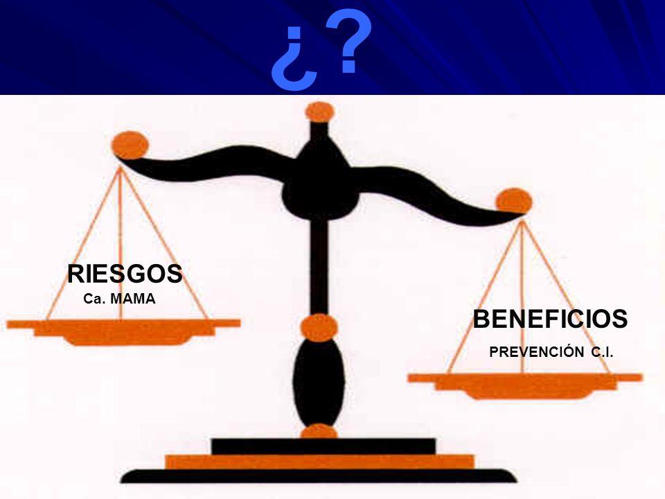 2 - INDICACIONES THS 1997 ESTUDIO PEPI –Ensayo clínico aleatorizado doble ciego –875 mujeres posmenopáusicas sanas y jóvenes –2 grupos: Placebo vs.