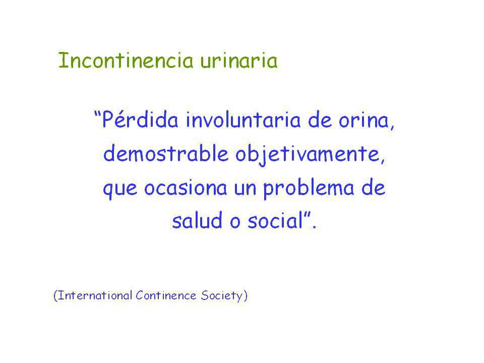 Incontinencia urinaria: orientación diagnóstica 1.