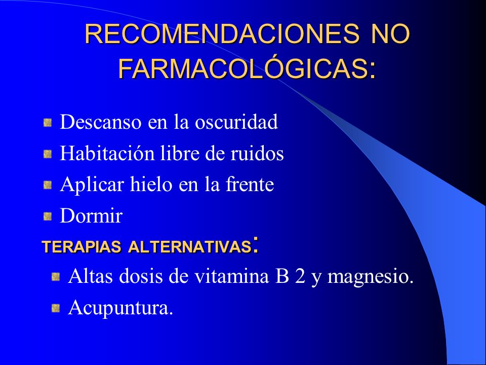 Beta-bloqueantes en la profilaxis The prevencion of migraine:a critical review with special emphasis on beta-adrenoceptor blockers.