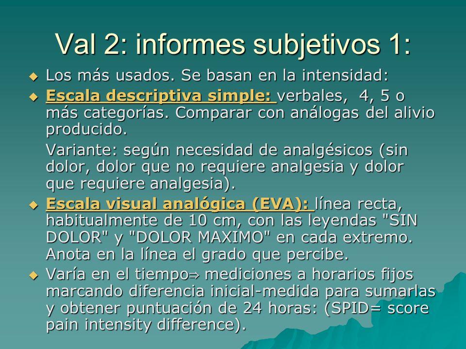 Valoración 1: Introducción: A diferencia de otras variables no método objetivo y directo. 3 tipos: A diferencia de otras variables no método objetivo