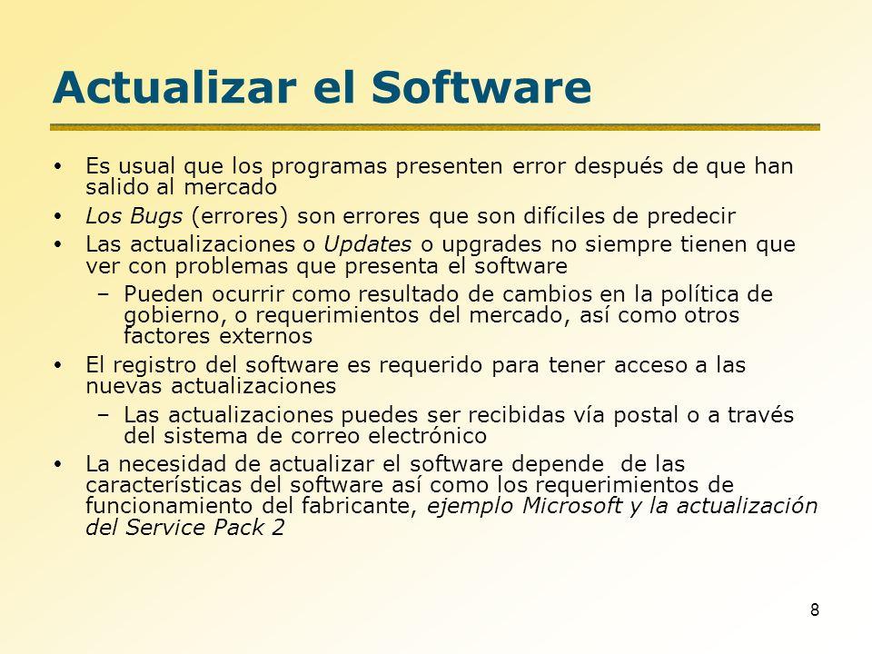 59 Herramientas de Utilidad Norton Utilities Le pertenece a Symantec Disponible para PC Muy popular para diagnosticar problemas existentes en el sistema WinZip Le pertenece a WinZip Corporation Programa para la compresión de archivos