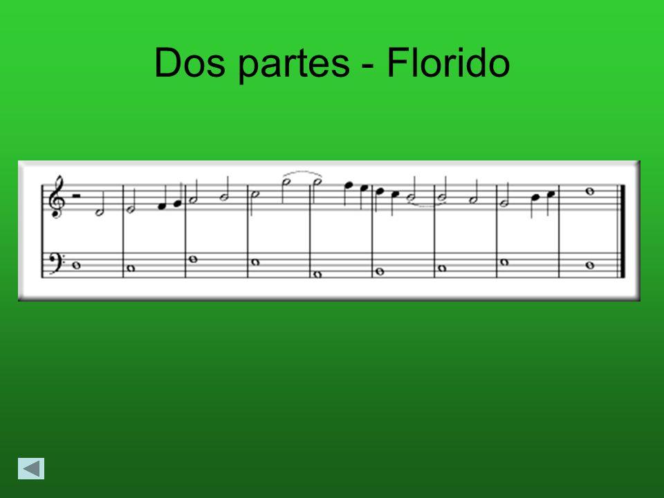 Dos partes - Florido