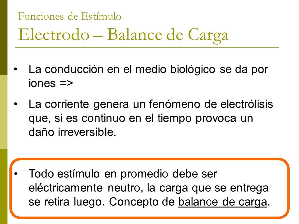 La conducción en el medio biológico se da por iones => La corriente genera un fenómeno de electrólisis que, si es continuo en el tiempo provoca un dañ