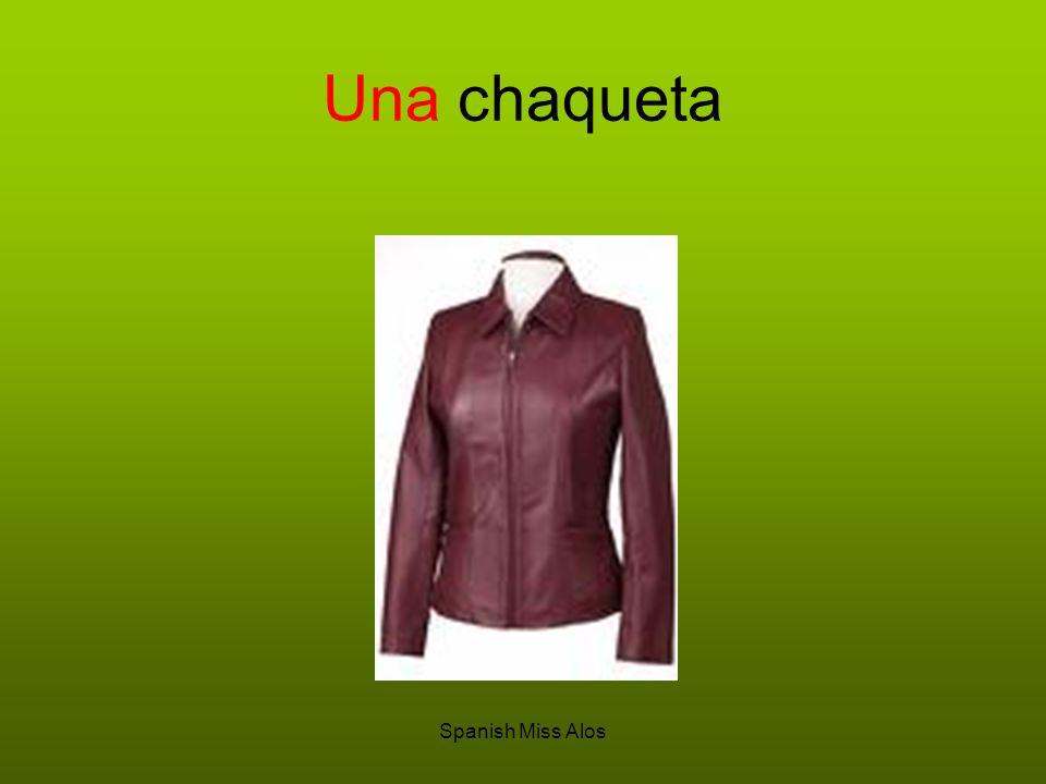 Spanish Miss Alos Una chaqueta