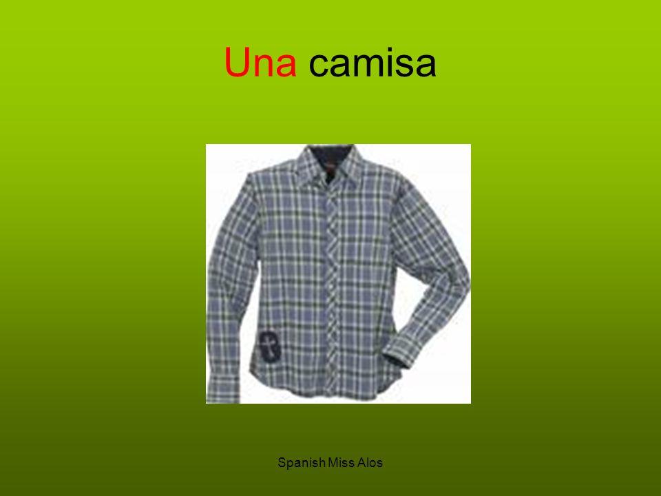 Spanish Miss Alos Una camisa