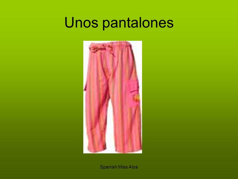 Spanish Miss Alos Unos pantalones