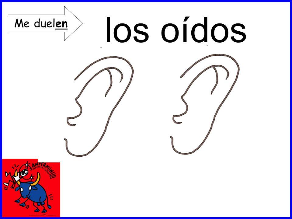 los oídos