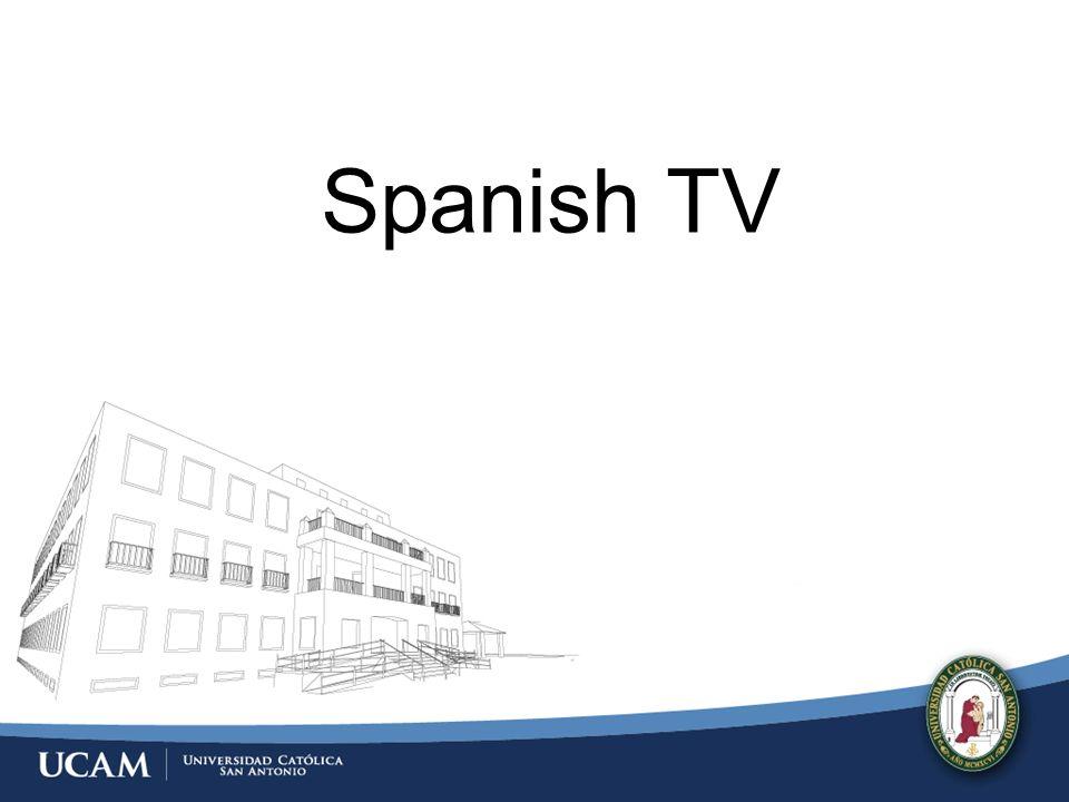 TV Genre in the Spanish Market Documentary http://www.youtube.com/watch?v=144lXLeXB20