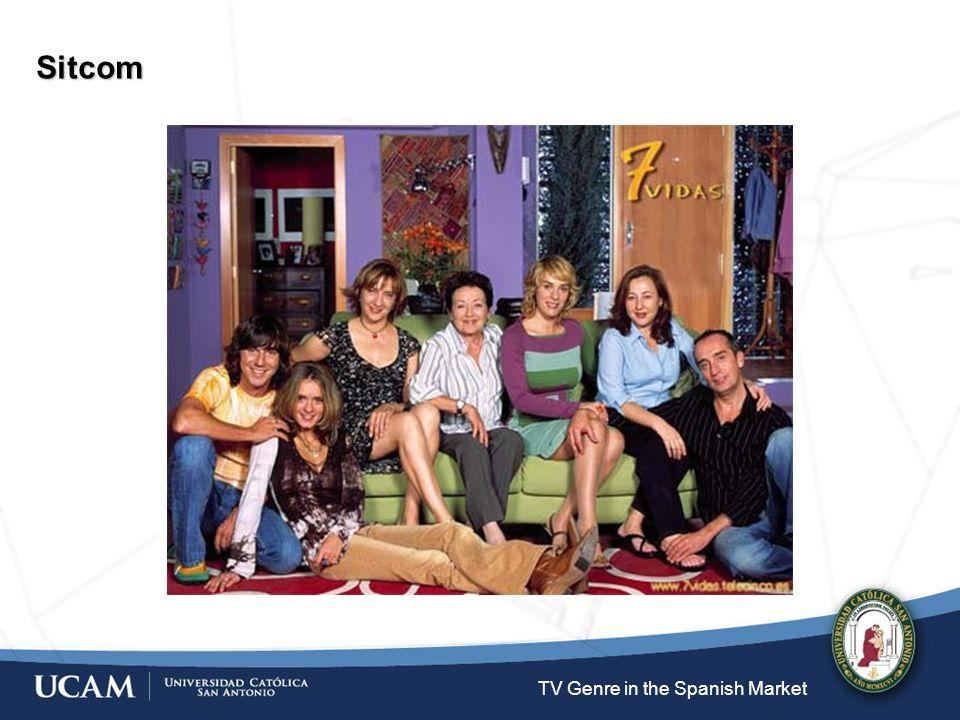TV Genre in the Spanish Market Talk shows El diario de Patricia (Antena 3, 2001-) http://www.youtube.com/watch?v=YeDCwBi8lKc&feature=PlayList&p=27BB42BDDA089FFC&index=8