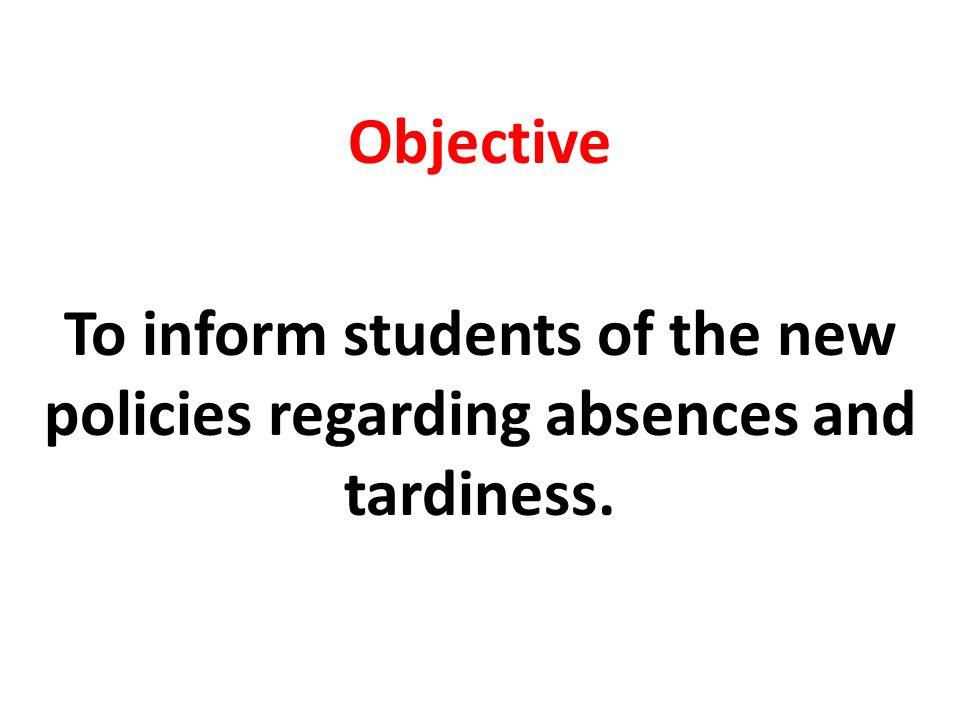 Estimad@s estudiantes, A partir de este período, habrá un cambio en la forma como l@s profesores/as evaluarán la asistencia a clases, y es muy importante que usted conozca estas reglas lo más pronto posible.