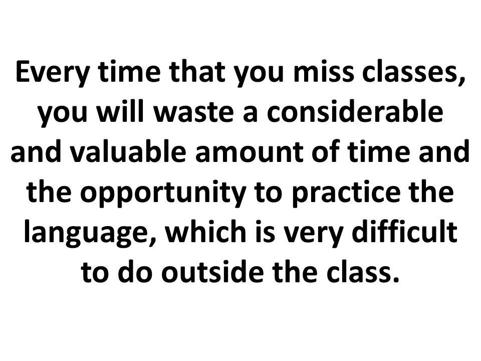 A partir de este momento, cualquier estudiante del Centro Cultural podrá faltar SÓLO UNA SESIÓN POR PERÍODO sin que implique una pérdida o rebajo de puntos en su nota.