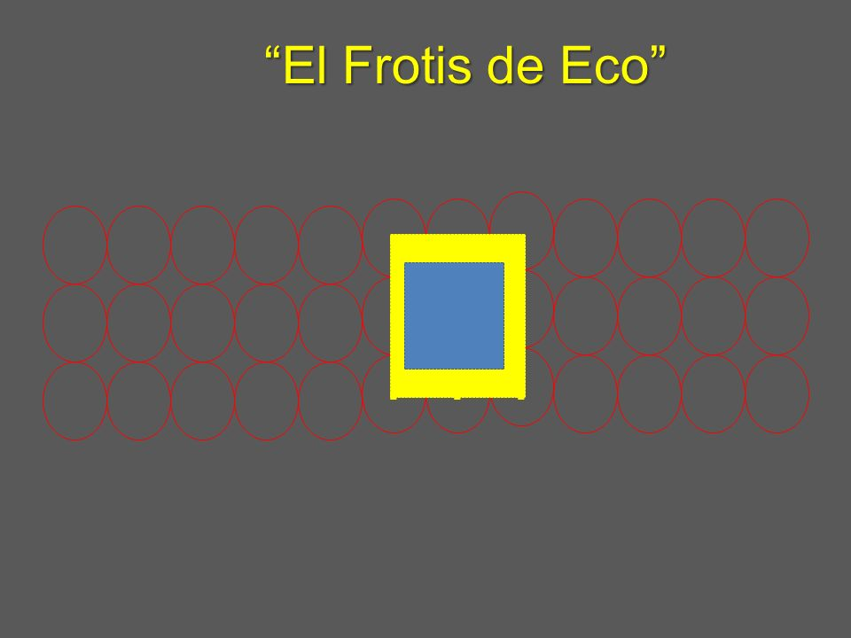 ......... El Frotis de EcoEl Frotis de Eco