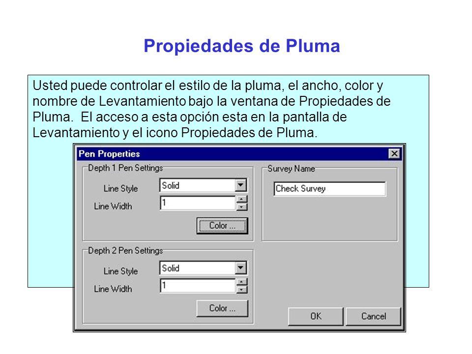 Objetos de Secciones Transversales Los usuarios pueden colocar texto, círculos (tubos) o líneas en cualquier parte del perfil transversal usando la característica de Objetos de Secciones Transversales.