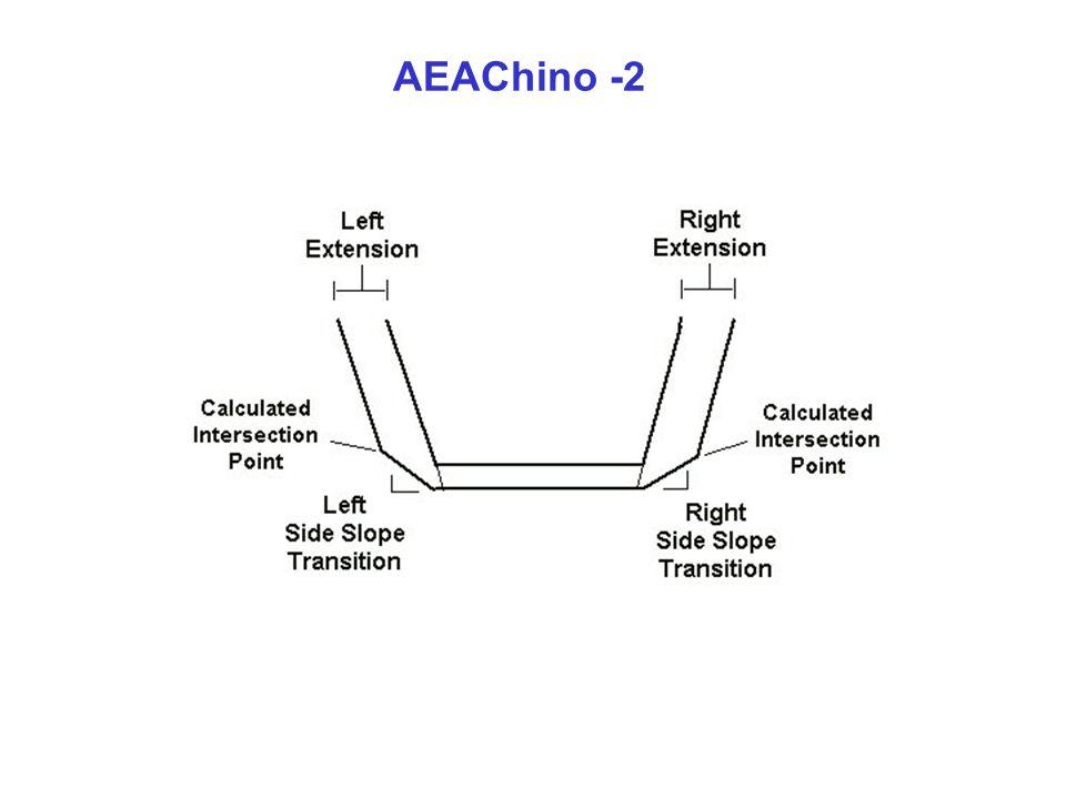 Chino AEA2 – Tabla de Levantamiento