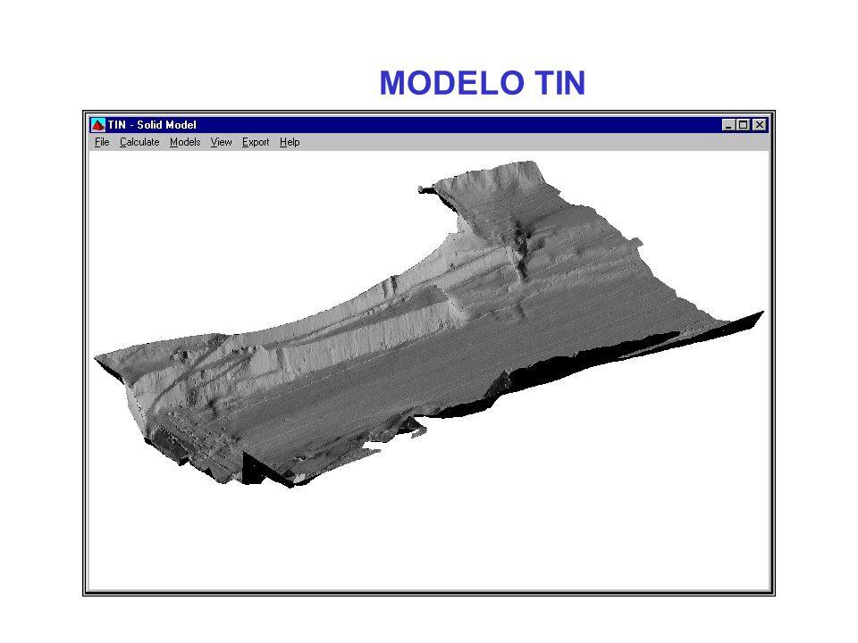 Crear/Imprimir/Exportar modelos de superficies calcular Volúmenes –TIN (Levantamiento) vs.