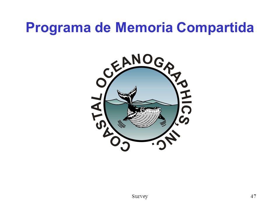 Survey47 Programa de Memoria Compartida