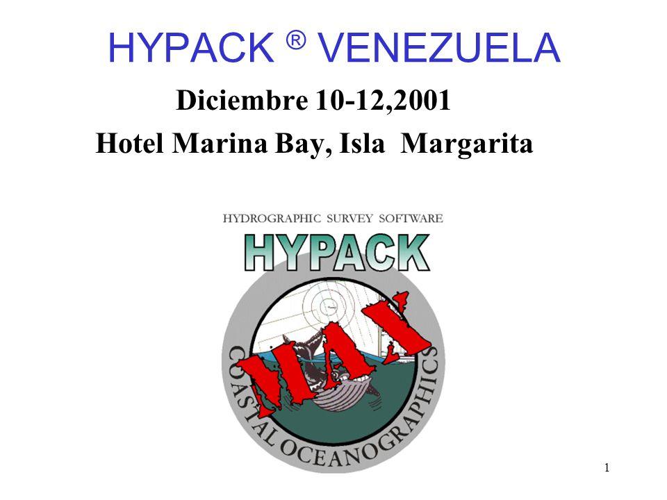 Overview1 HYPACK ® VENEZUELA Diciembre 10-12,2001 Hotel Marina Bay, Isla Margarita