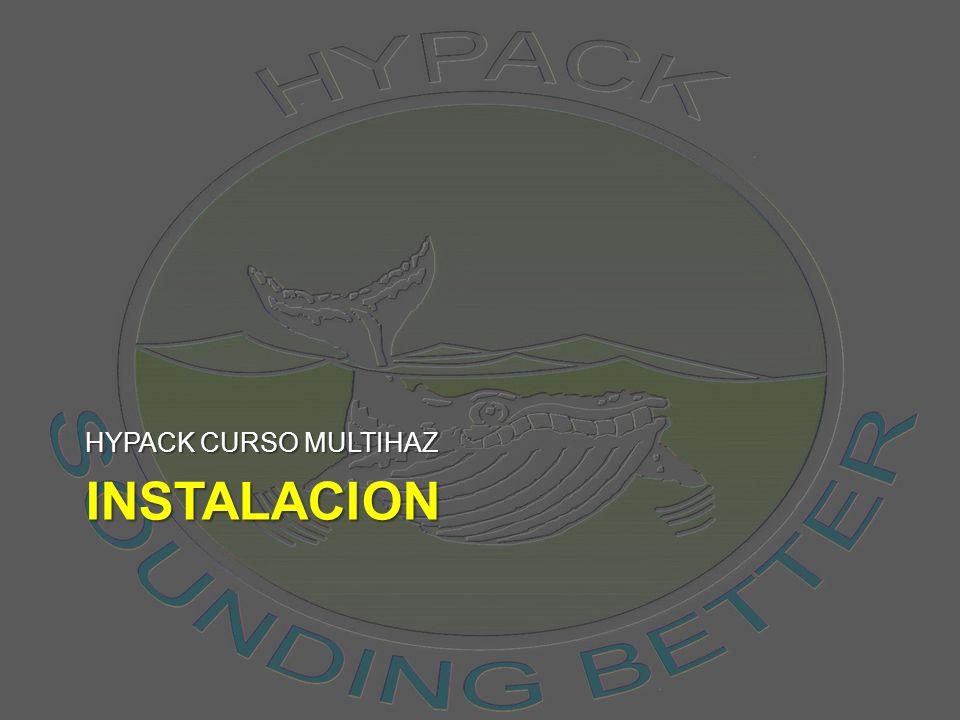 INSTALACION HYPACK CURSO MULTIHAZ