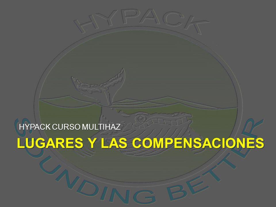 LUGARES Y LAS COMPENSACIONES HYPACK CURSO MULTIHAZ