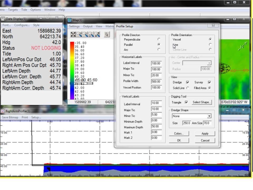 Mostrar BMP del usuario en la Ventana Perfil Copie su BMP a la carpeta \HYPACK 2012\ShapesCopie su BMP a la carpeta \HYPACK 2012\Shapes Ejecute Prepar
