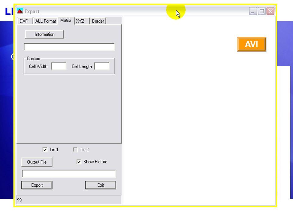 Llenando su archivo MTX con datos del Levantamiento TIN MODEL es el mejor lugar para llenar su MTX con datos de levantamiento. Rellena en cualquier lu