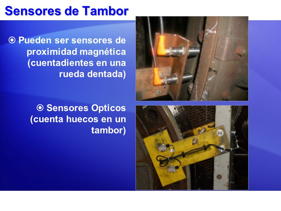 Estados del Sensor El sistema usa un contador de cuadratura para leer los cuatro estados posibles para determinar la posición del tambor y calcular la profundidad.