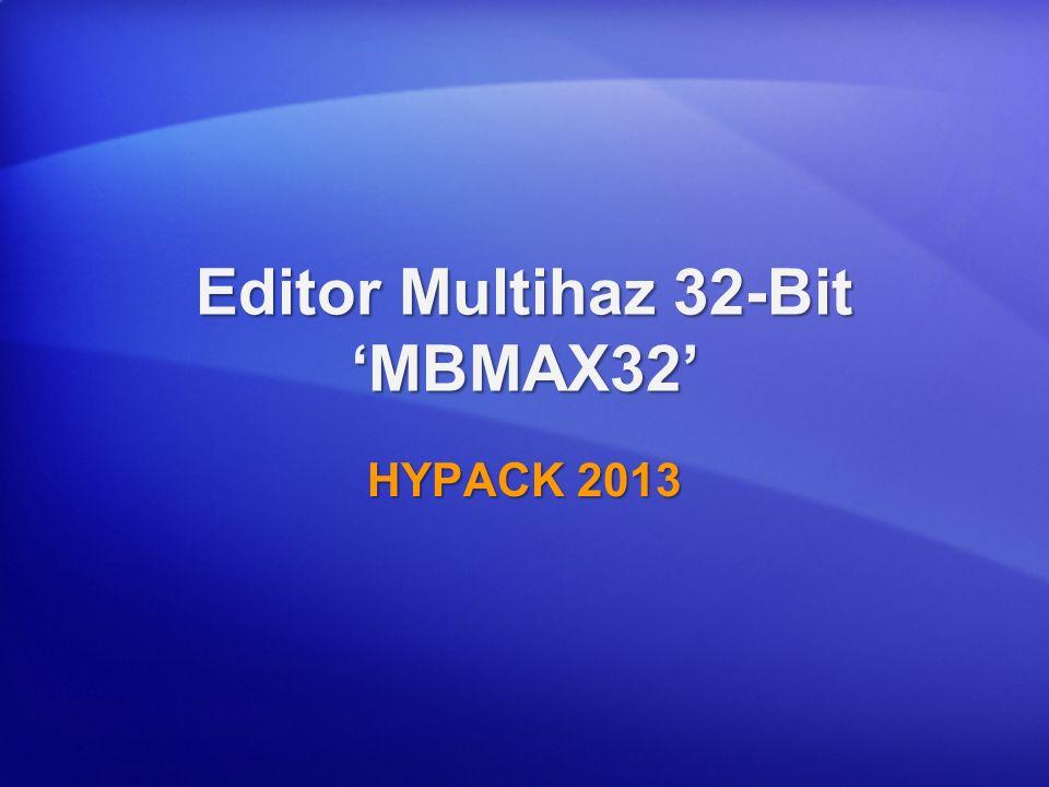 Introducción MBMAX32 Se Terminó el Levantamiento, Ahora lo que.