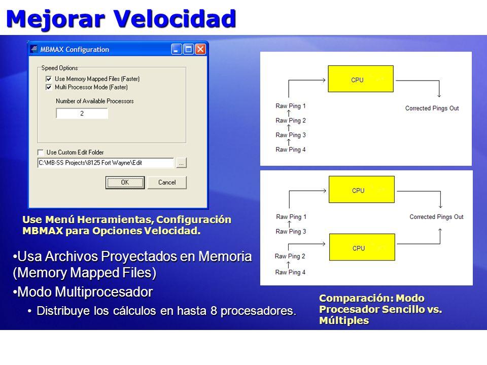 MBMAX Etapa Uno Verifique Parámetros Brutos Etapa Dos Edición Basada en Barrido Etapa Tres Edición Basada en Area HS2 HSX HYSWEEP SURVEY HS2 XYZ VEL TID Flujo de Datos MBMAX32 GSF HYPACK SURVEY BRUTOS XYZ