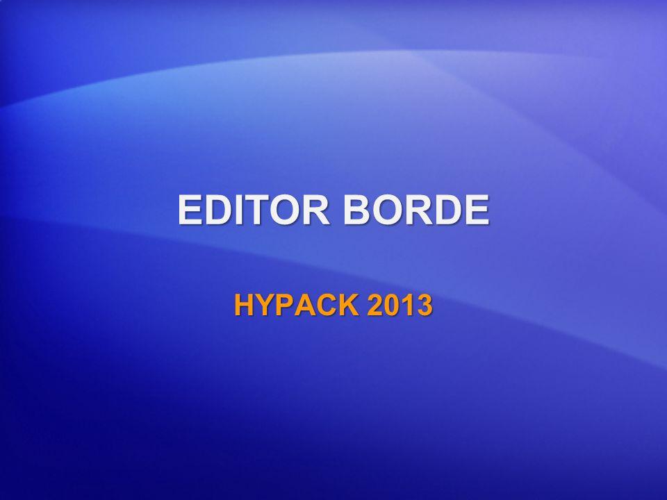 EDITOR BORDE HYPACK 2013