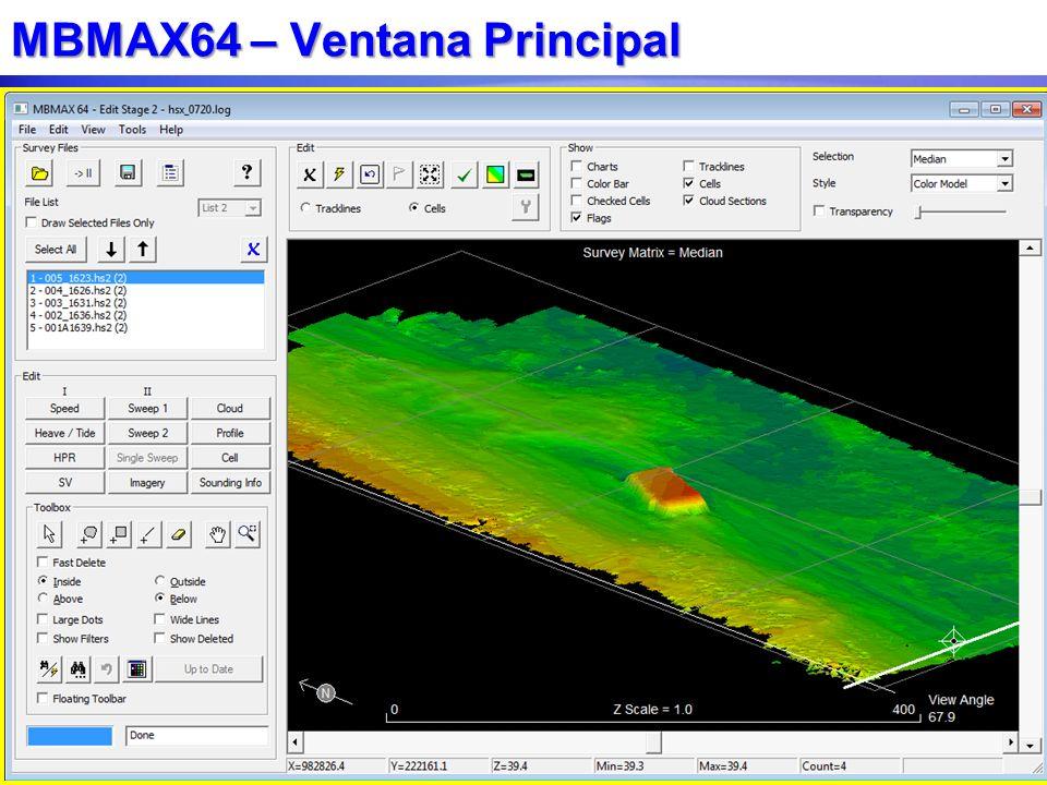 MBMAX64 – Ventana Principal