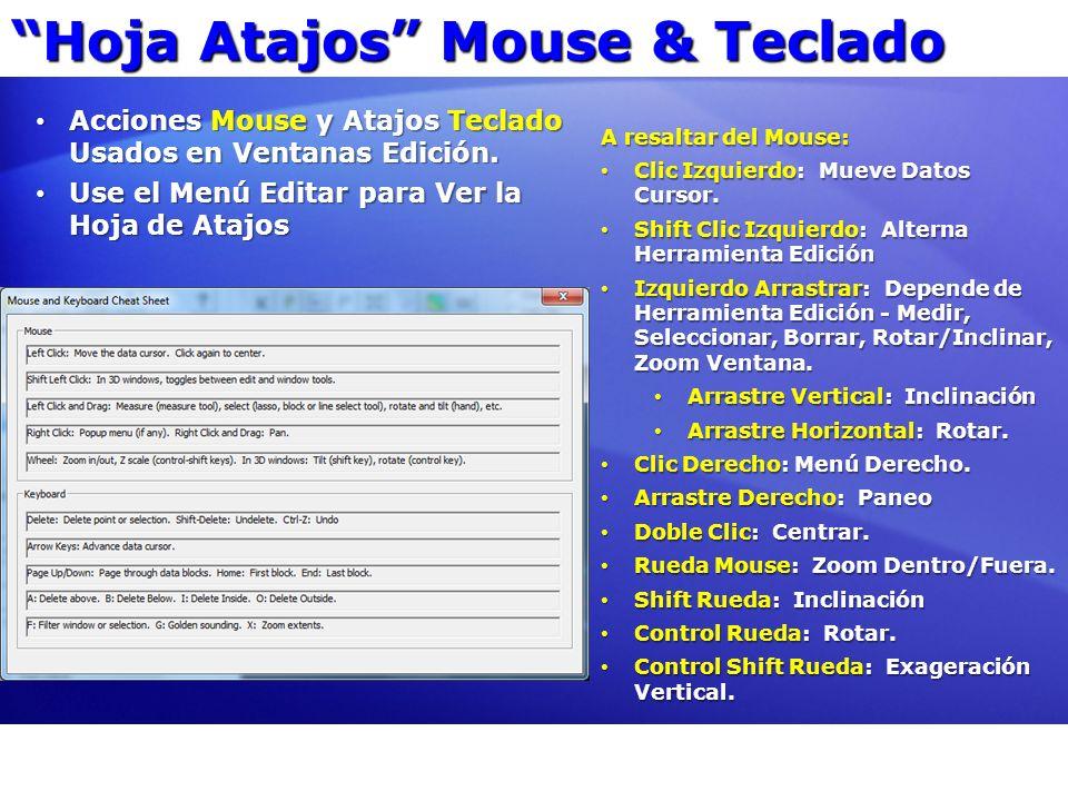 Hoja Atajos Mouse & Teclado Acciones Mouse y Atajos Teclado Usados en Ventanas Edición. Acciones Mouse y Atajos Teclado Usados en Ventanas Edición. Us