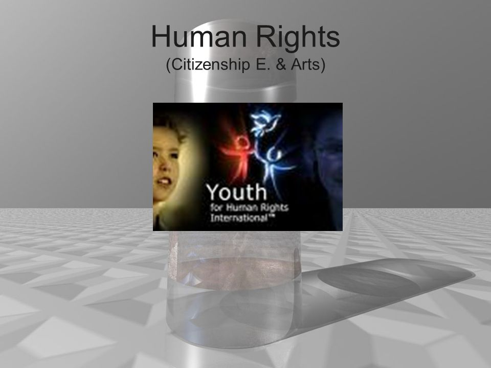 Human Rights (Citizenship E. & Arts)
