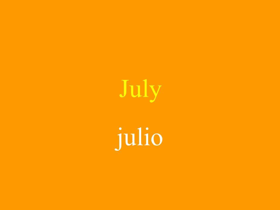 July julio