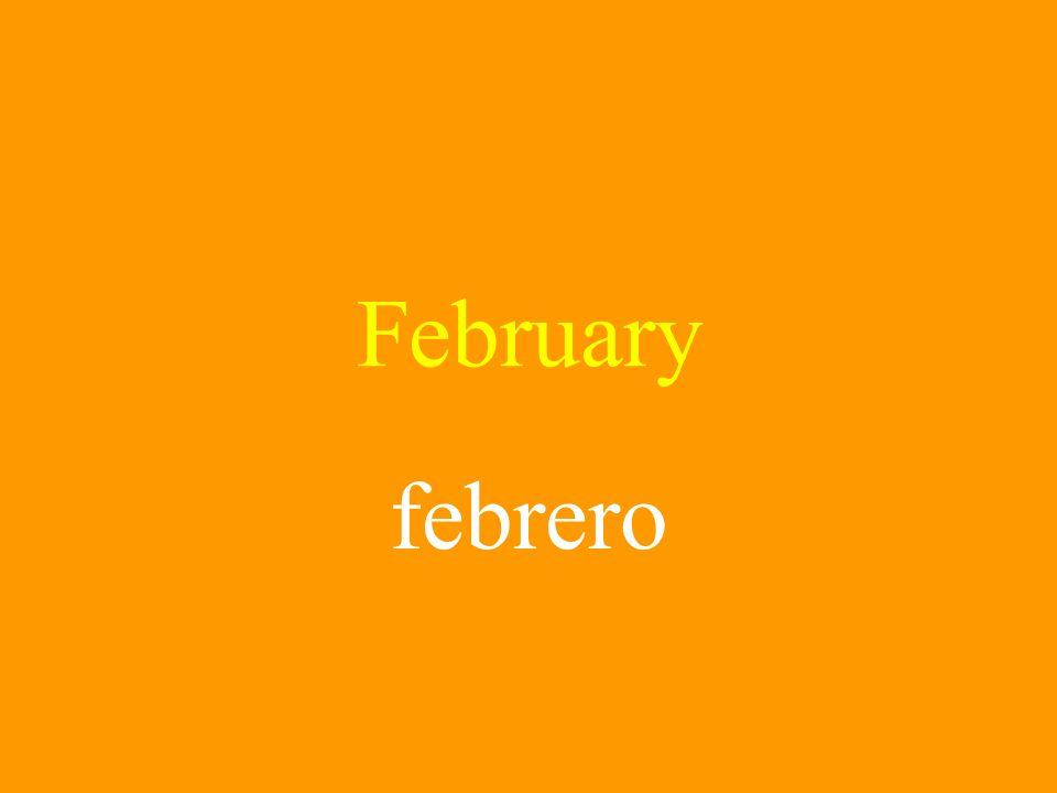February febrero