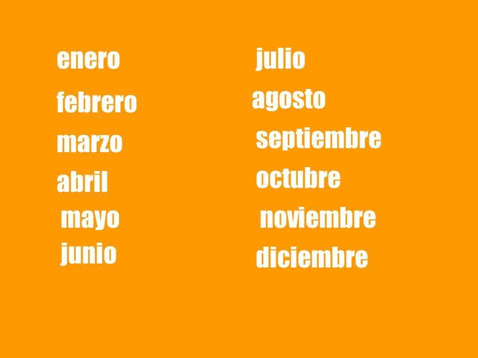 enero febrero marzo abril mayo junio julio agosto septiembre octubre noviembre diciembre