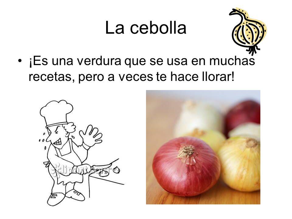 La cebolla ¡Es una verdura que se usa en muchas recetas, pero a veces te hace llorar!