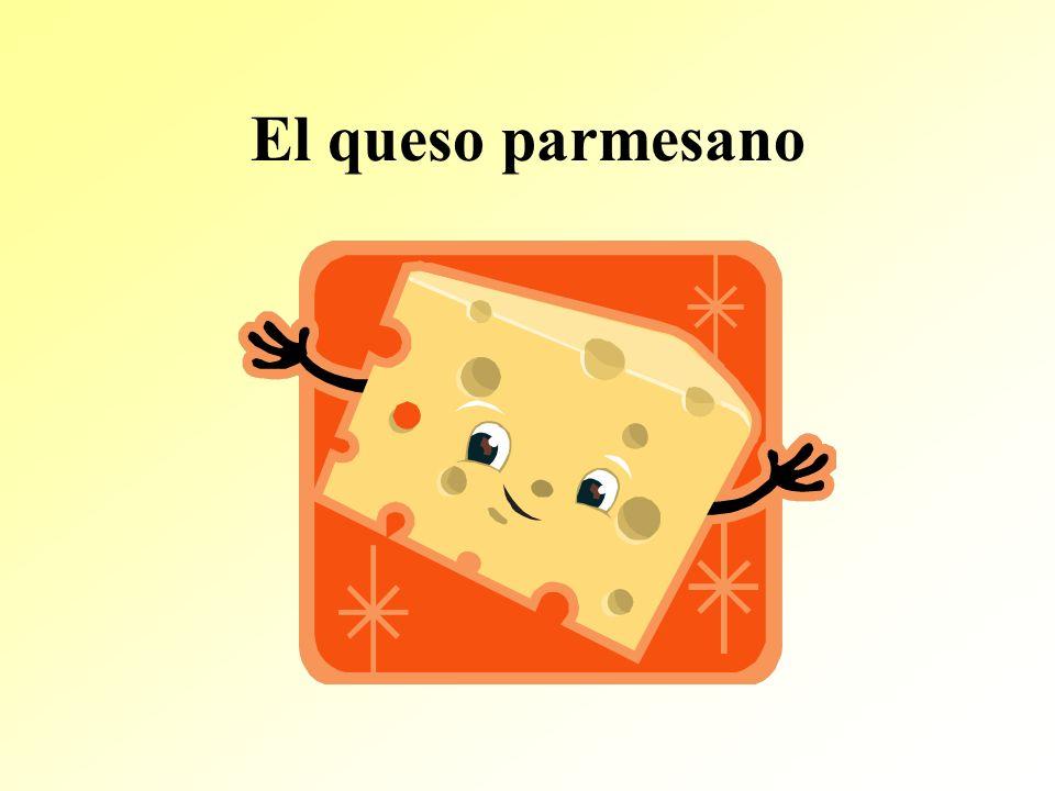 El queso parmesano