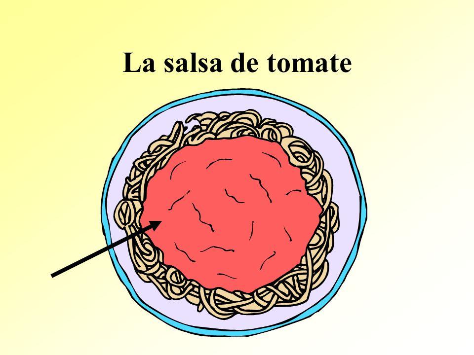 La salsa de tomate