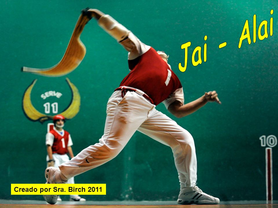 ¿Qué sabes de jai-alai.¿ Dónde originó. ¿De qué idioma (language) viene la palabra jai-alai.