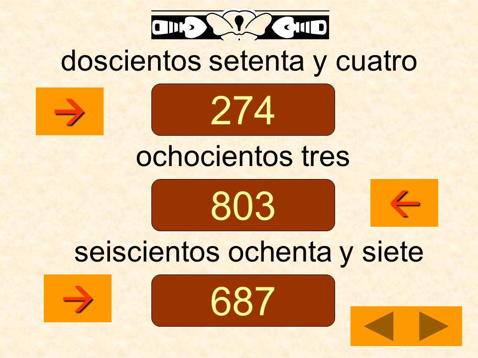 doscientos setenta y cuatro ochocientos tres seiscientos ochenta y siete 274 803 687