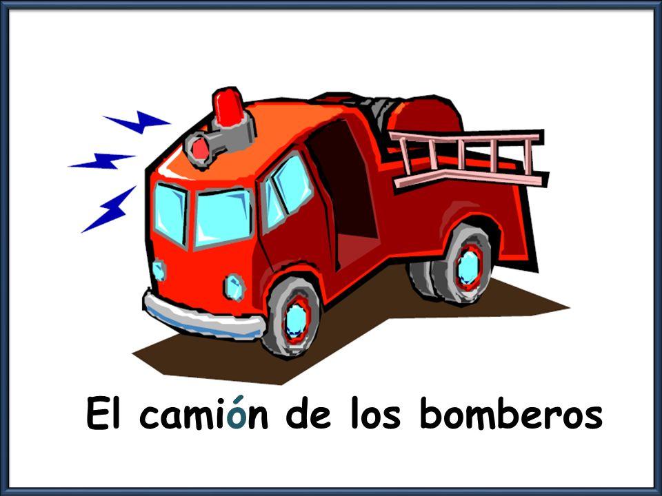 El camión de los bomberos