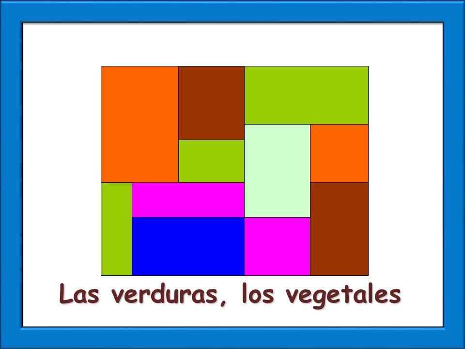 Las verduras, los vegetales