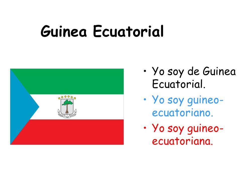 Ecuador Yo soy de Ecuador. Yo soy ecuatoriano. Yo soy ecuatoriana.